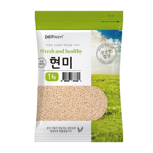 건강한밥상 국산 현미, 1kg, 1개