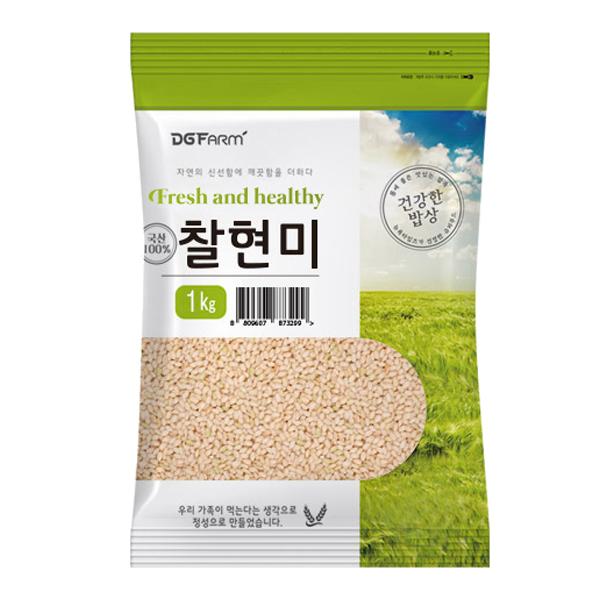 건강한밥상 국산 찰현미, 1kg, 1개