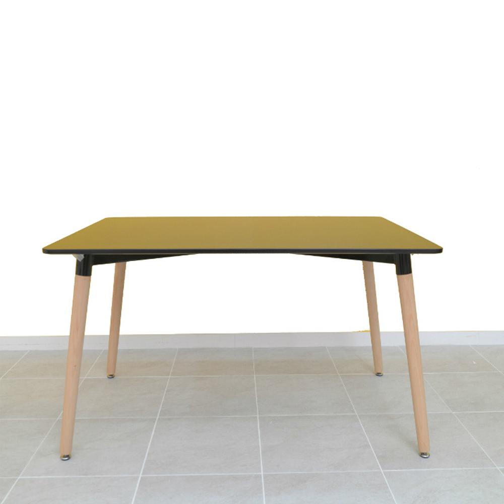 글래스 카페 테이블 1200, 블랙