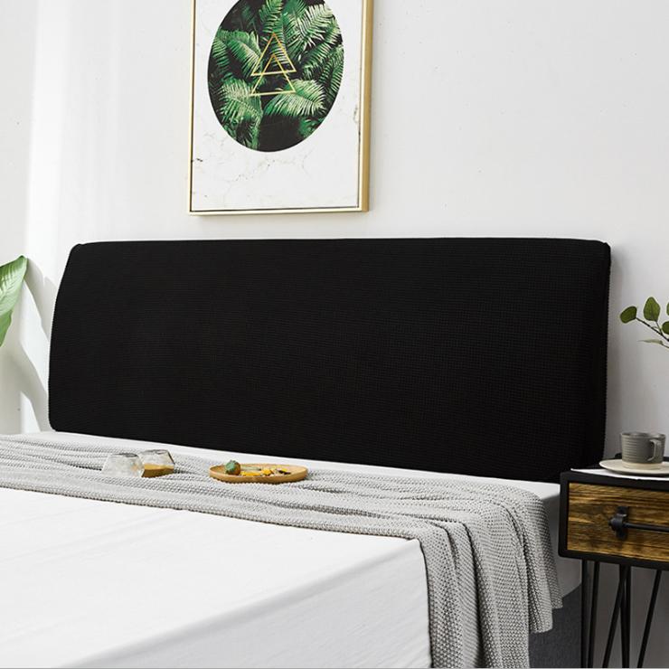 예은침구 침대 헤드 커버 180cm, 블랙