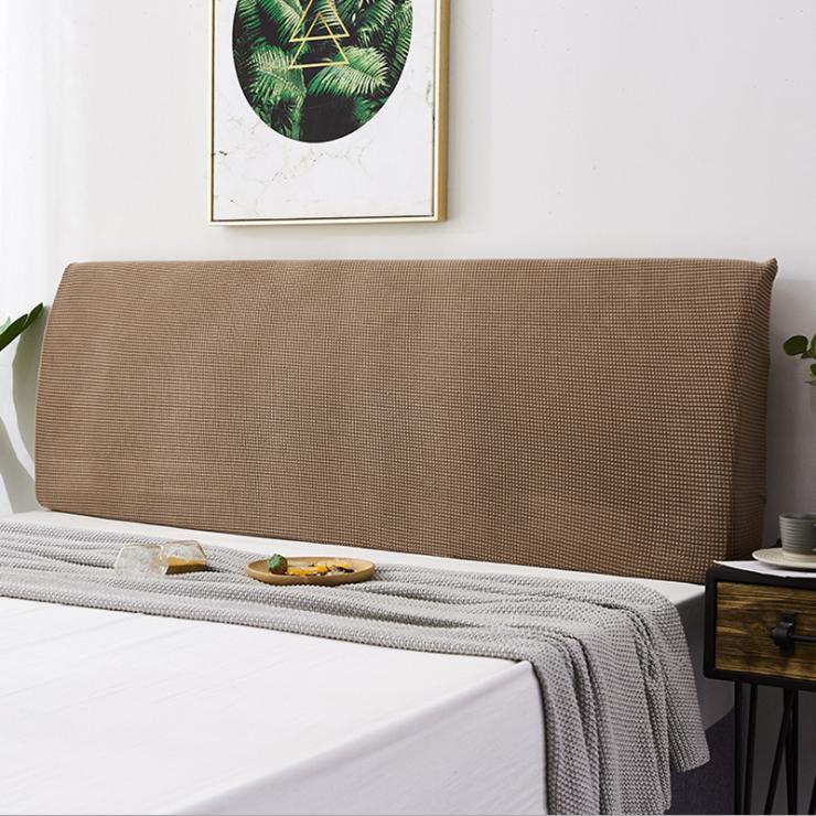 예은침구 침대 헤드 커버 180cm, 브라운