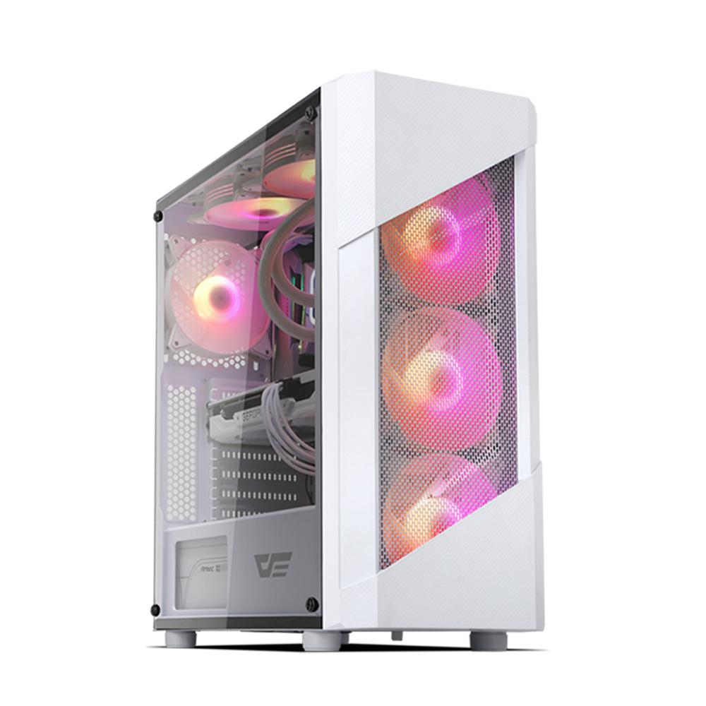 프리플로우 HELLO CREATOR 3506S GAMING 조립PC (라이젠5 3500 WIN미포함 16GB NVMe250GB GTX1660 SUPER 6GB) 화이트, 기본형