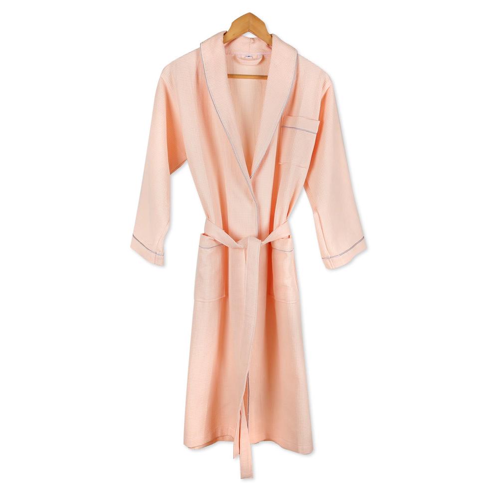 와플 호텔 샤워가운 L, 핑크, 1개