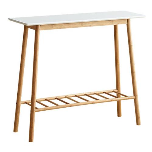 앳홈 솔리드 우드 테이블, 화이트