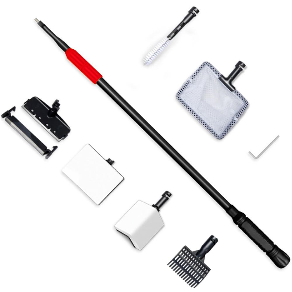 아쿠아렉스 6 in1 수족관 스크래퍼 청소 도구 세트, 1세트