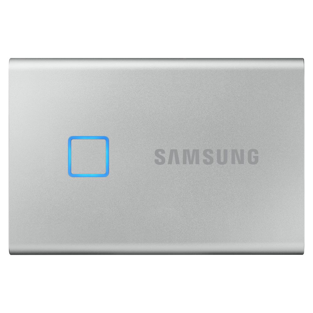 삼성전자 외장SSD T7 TOUCH MU-PC500, 500GB, 실버