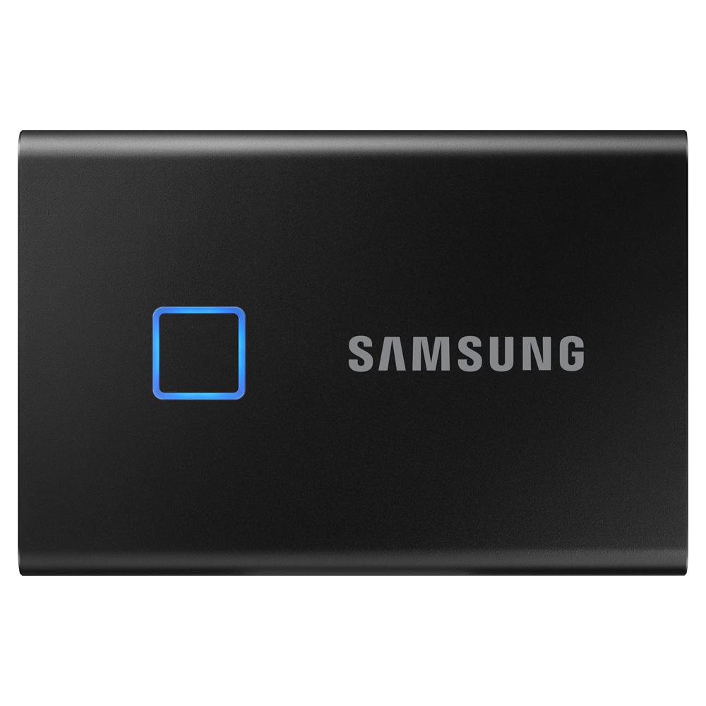 삼성전자 외장SSD T7 TOUCH MU-PC500, 500GB, 블랙