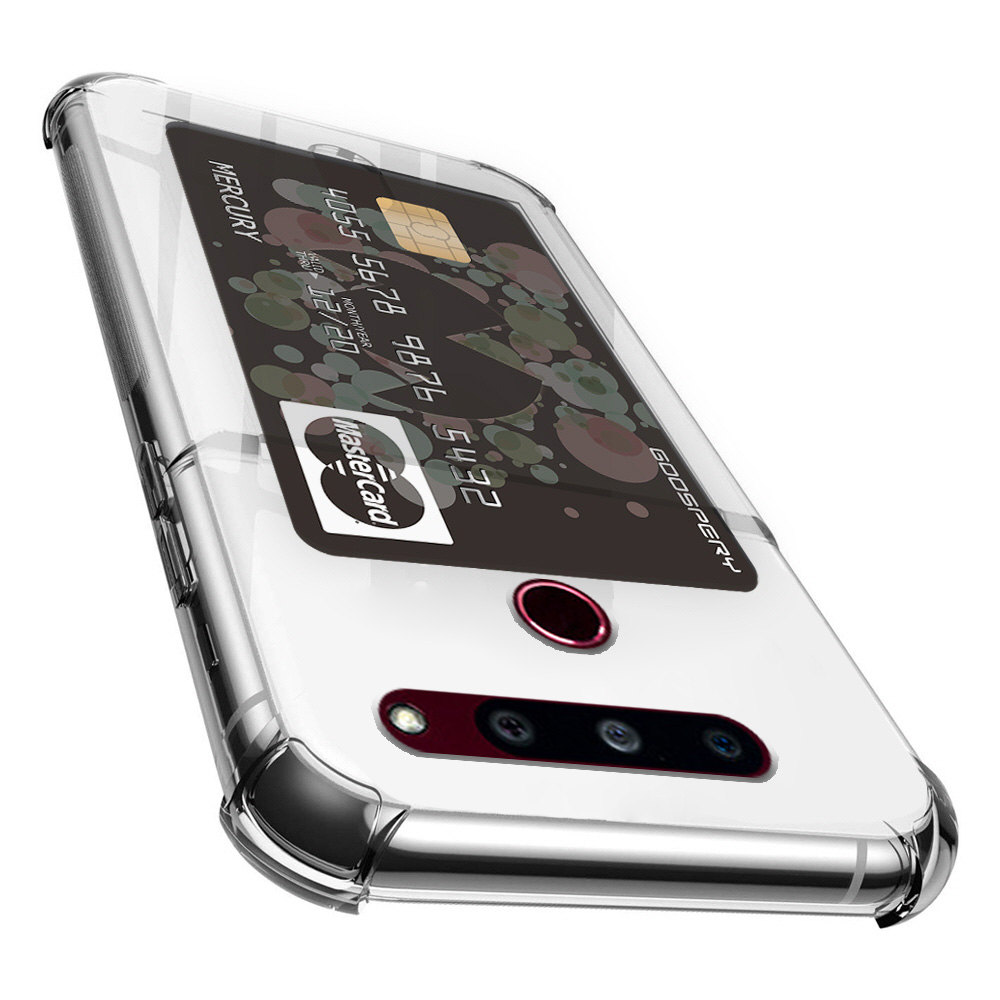 머큐리 하이브리드 에어백 카드 포켓 휴대폰 케이스 젤리타입