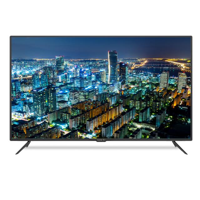 와이드뷰 UHD 4K LED 190cm 고화질TV WV750UHD-S01, 스탠드형, 방문설치