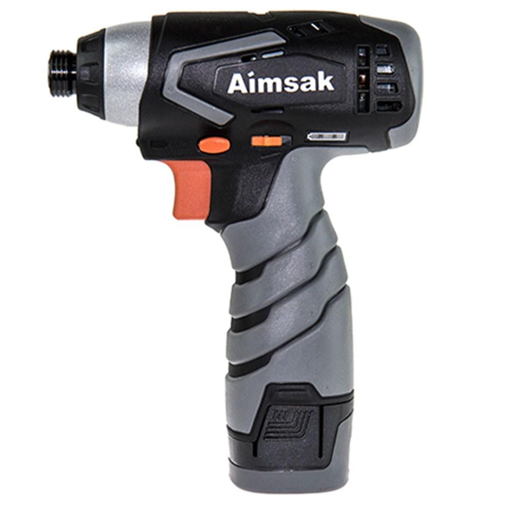 아임삭 충전임팩 전동 드라이버 AI414M2 14.4V + 2.0Ah 배터리 2p, 1세트