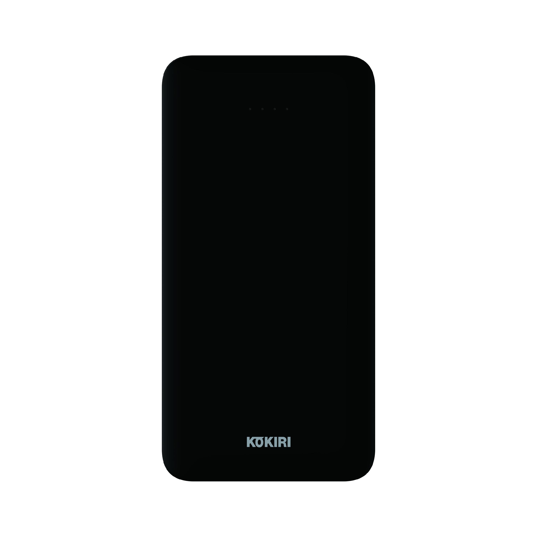 코끼리 A팩 플러스유 보조배터리 10000mAh USB타입 5핀 & 타입C, KP-LT100U2, BK