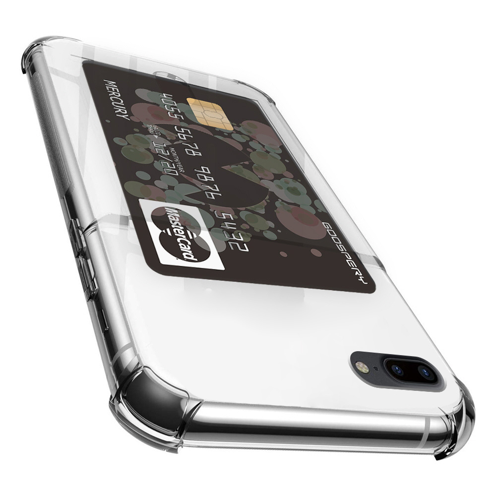 구스페리 하이브리드 에어백 카드 포켓 휴대폰 케이스