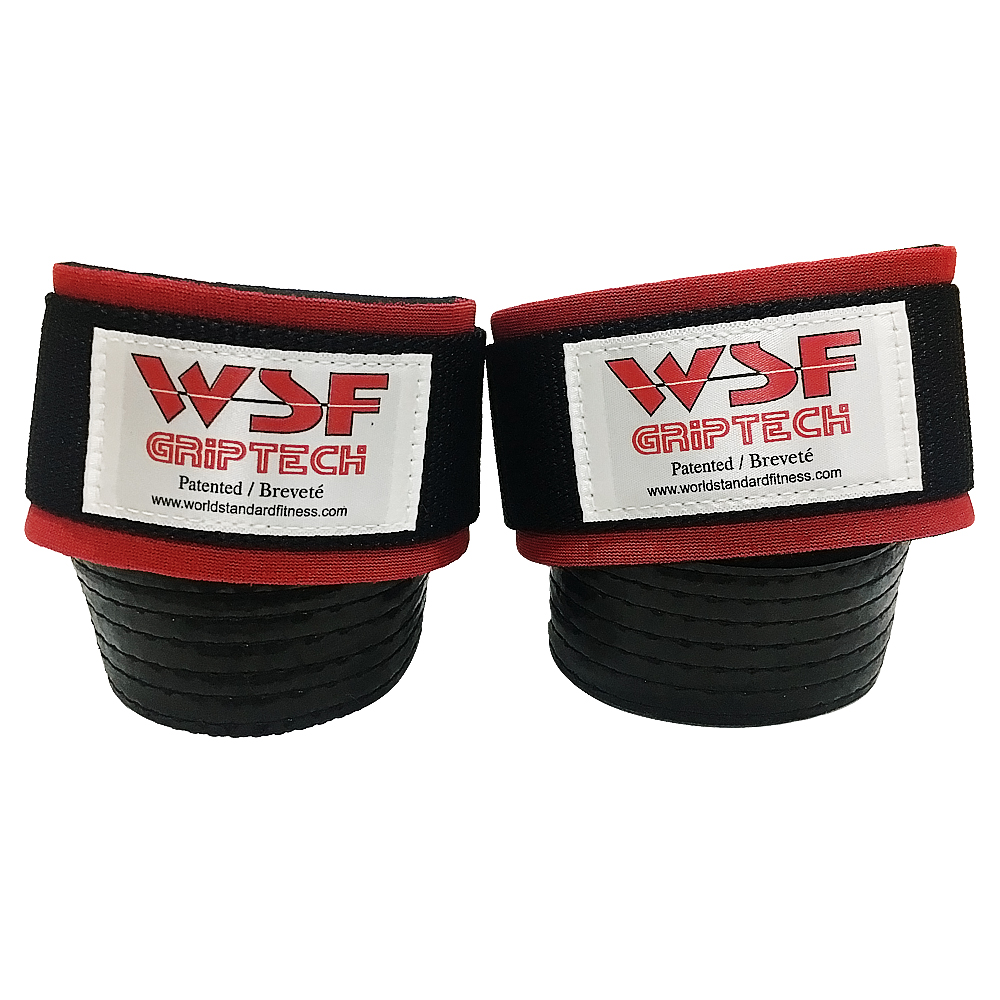 WSF 그립테크 리프팅 헬스 스트랩 2p, 혼합색상