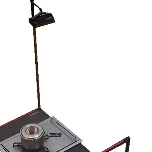 제드 블록 테이블 2 랜턴 스탠드 ZFATA0305, 혼합색상, 1개