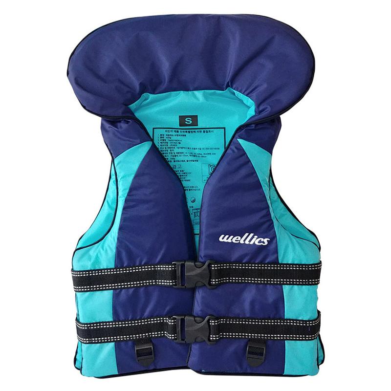 어웨이브 웰릭스 수영보조복 35kg, blue