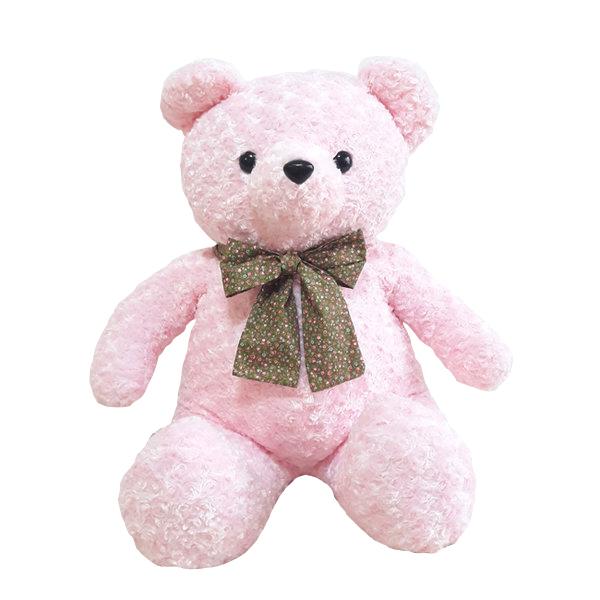 아트코리아 플로리타 베어 봉제인형, 80cm, 핑크
