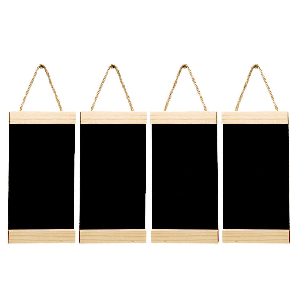미니블랙보드 벽걸이 메뉴판 4p, 소나무