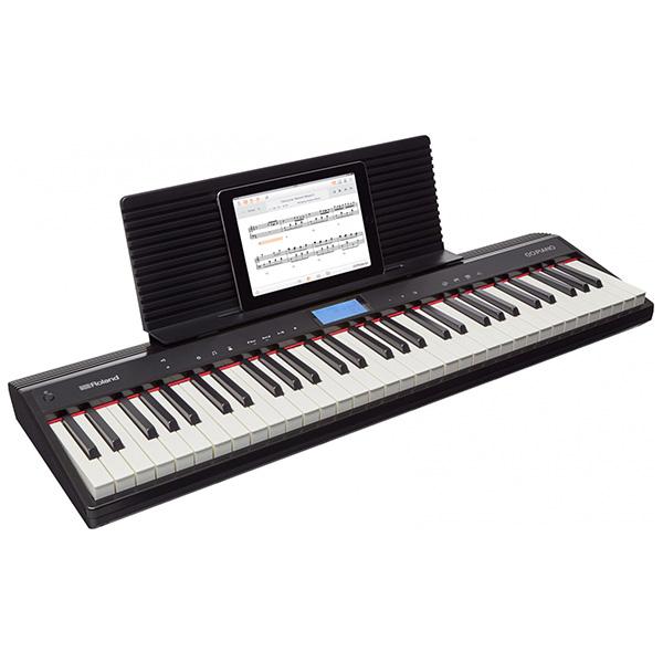 롤랜드 GO PIANO 전자 키보드, GO-61P, 블랙