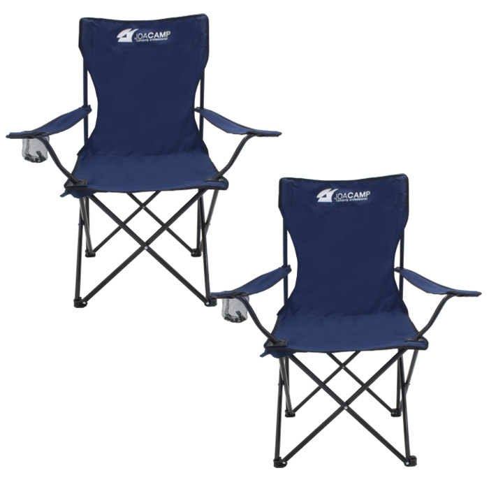 조아캠프 팔걸이 낚시 의자, 네이비, 2개-7-1298970213