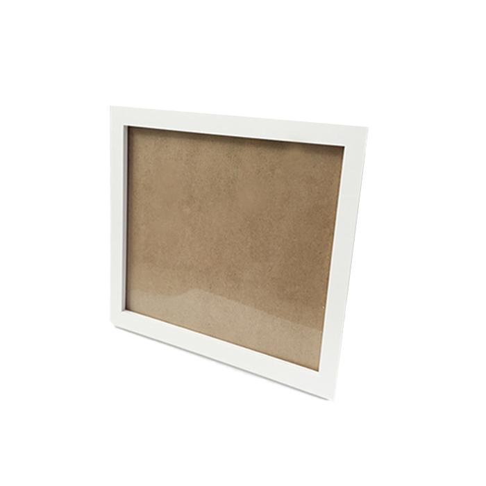 케이엠엘리 보석 십자수 전용 액자 30 x 40 cm, 화이트, 1개