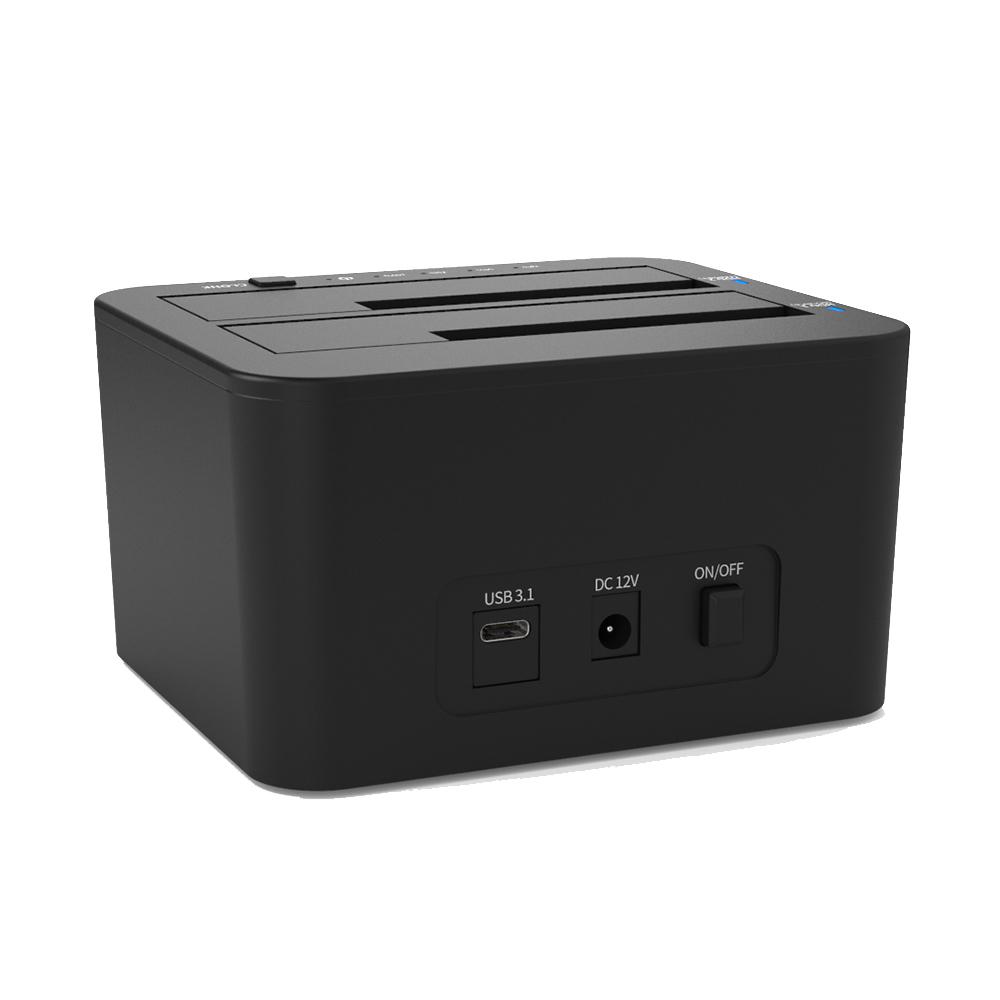 넥스트 2bay USB 3.1 Type C HDD도킹스테이션 NEXT-965TC