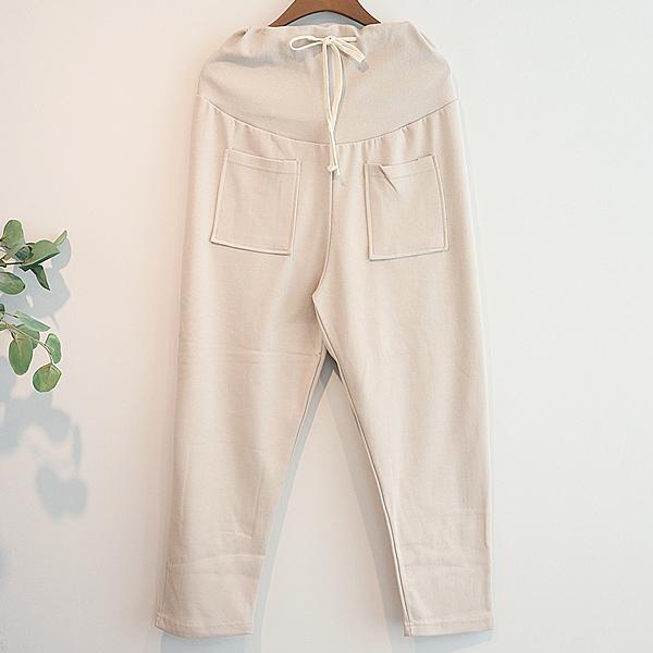 이얀 임부복 포켓 츄리닝 바지 (POP 1313993714)