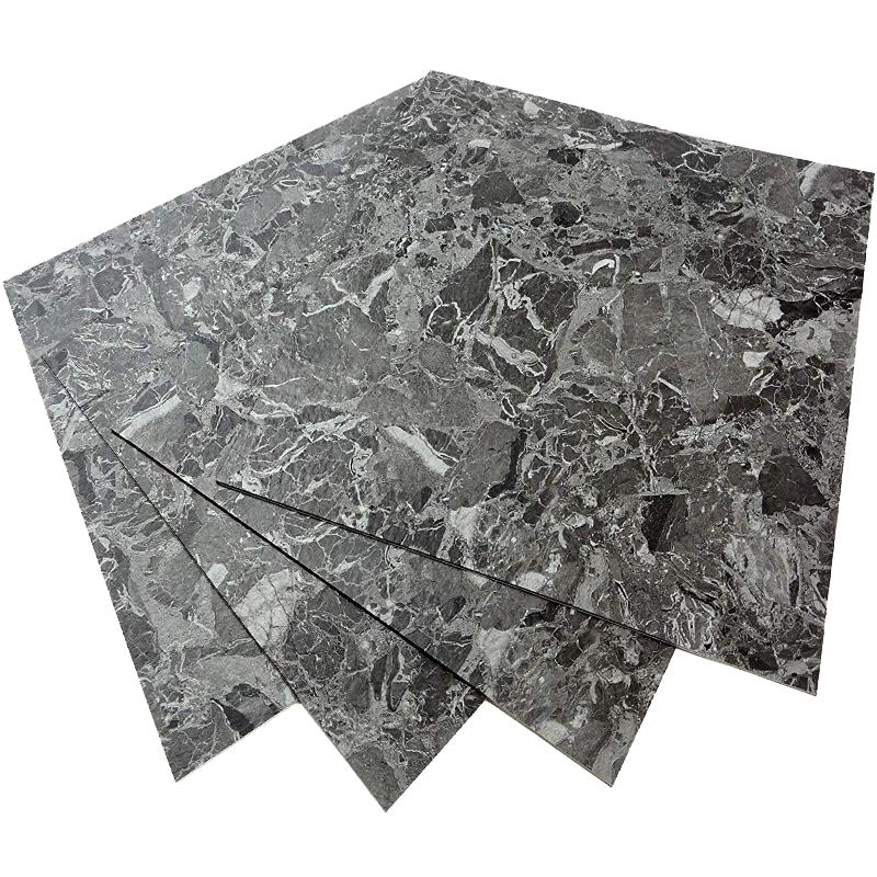 로즈로사 접착식 데코타일 대리석 40 x 40 cm 1.6제곱미터, ECK-303, 10개