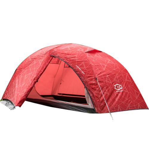 제드코리아 이스턴돔2 텐트, 레드