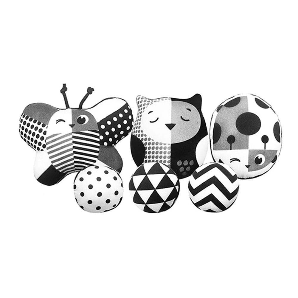 타이니러브 흑백 인형 모빌세트, 숲속 친구들