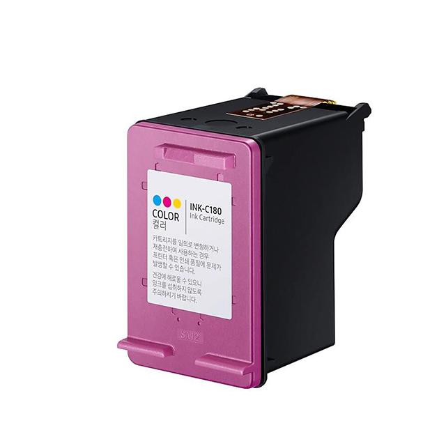 삼성 호환 430매 대용량 비정품 잉크 INK-C180, 컬러, 1개