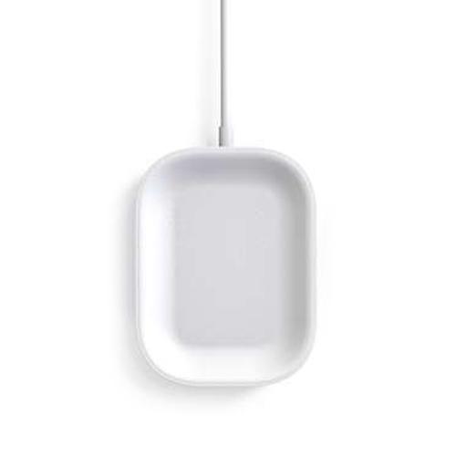 스카이 필 W1 블루투스 이어폰 무선충전기 SKY-W1, 심플화이트, 1개