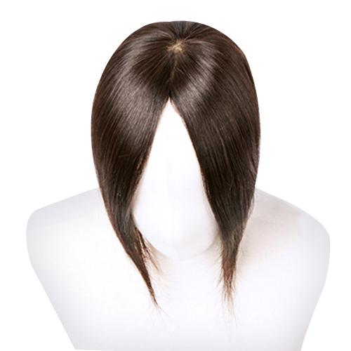 인텔리위그 여자정수리 가발 30cm형, 자연갈색, 1개