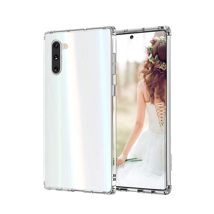 디씨네트워크 오로라 투명 범퍼 휴대폰 케이스