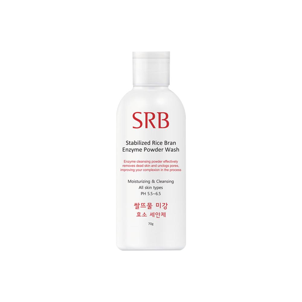 SRB 쌀뜨물 미강 효소 세안제 클렌징 파우더, 70g, 1개