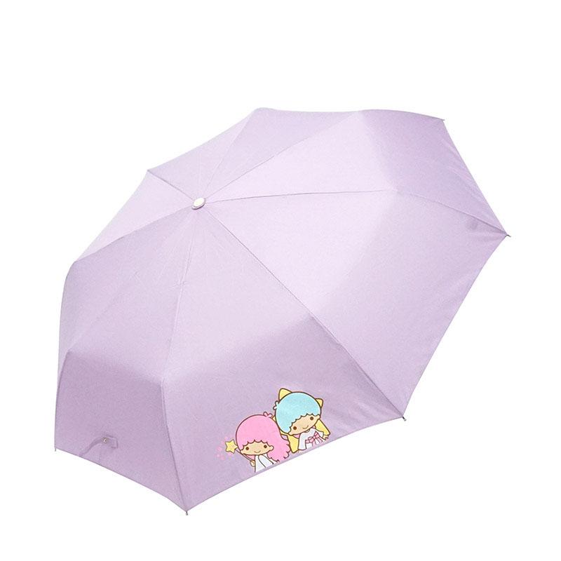 산리오 리틀트윈스타 챠밍 완전자동우산
