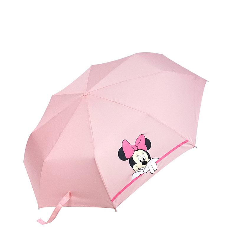 디즈니 미니마우스 빼꼼 완전자동우산