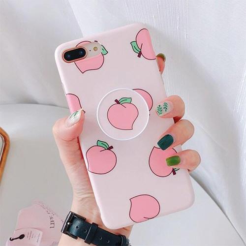 복숭아 스마트톡 휴대폰 케이스