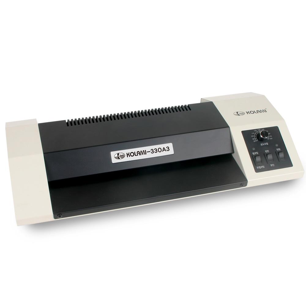 코라미 코팅기 4롤러 스틸케이스 KOLAMI-330A3, A3