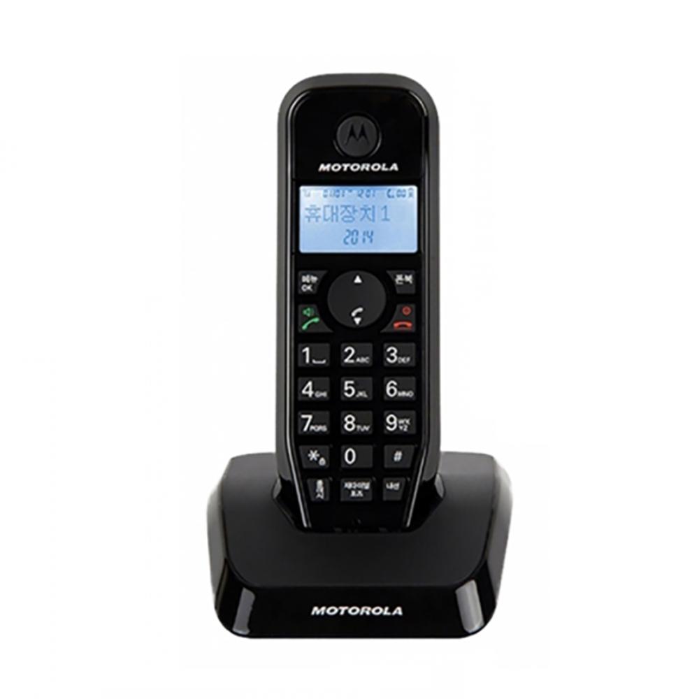 모토로라 무선 전화기 증설용 블랙 S1211AH