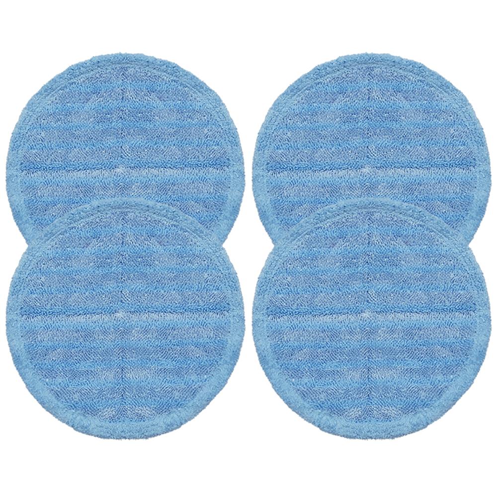 물걸레청소기 전기종 호환 극세사 걸레 파랑색 22cm, 단일상품, 4개