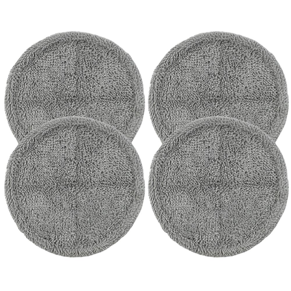 삼성제트 물걸레청소기 호환 극세사 걸레 회색, 단일상품, 4개