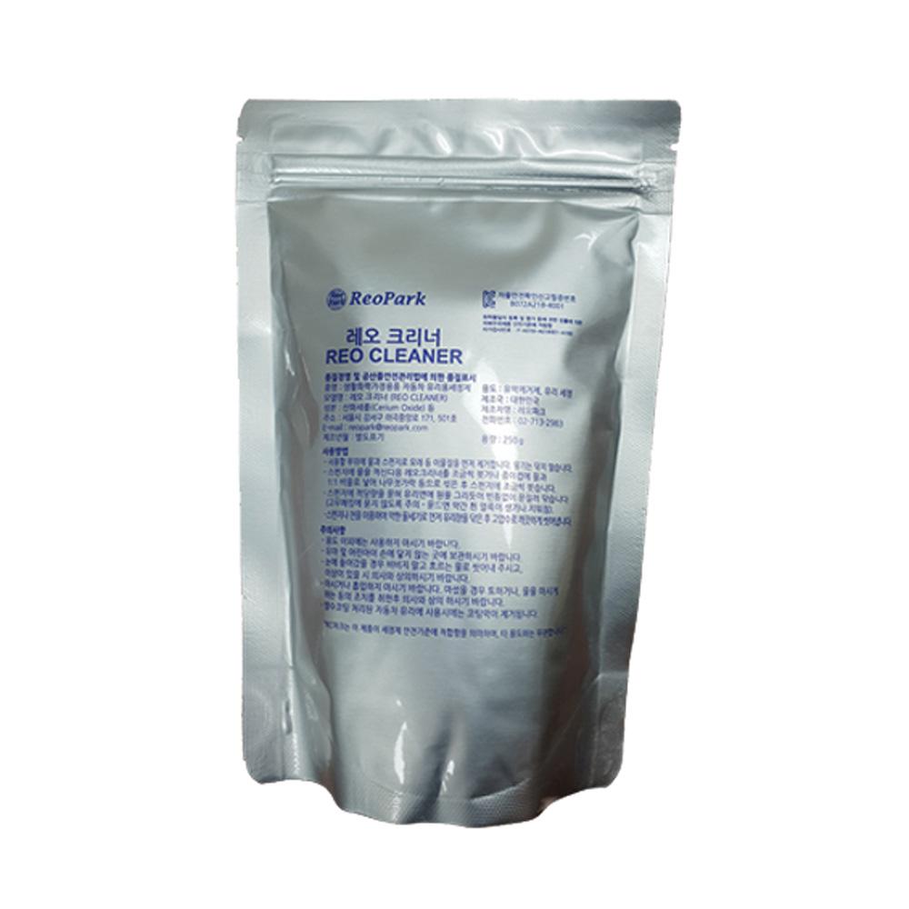 레오크리너 나노파우더 산화세륨 자동차 유리 유막 제거제, 250g, 1개