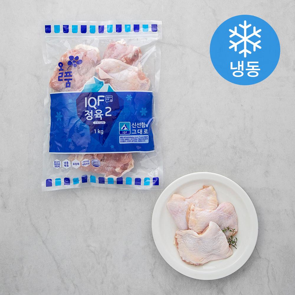 올품 닭다리살 IQF (냉동), 1kg, 1개