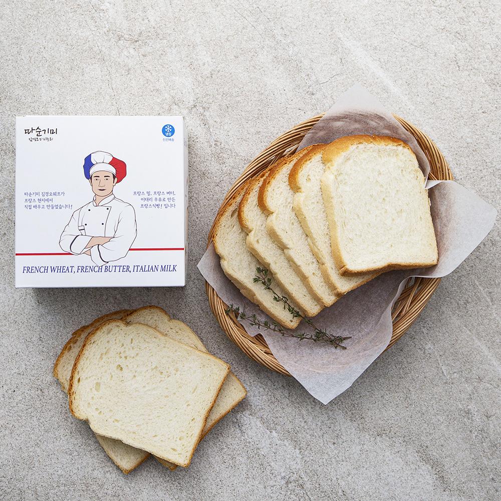 따순기미 프랑스 밀 버터로 만든 프랑스식빵, 420g, 1개