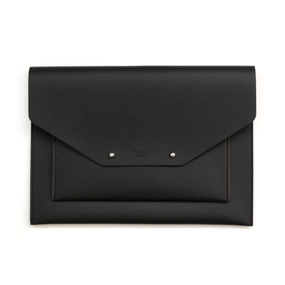 퍼니메이드 유틸리티 태블릿 파우치 28 x 20 cm, 블랙