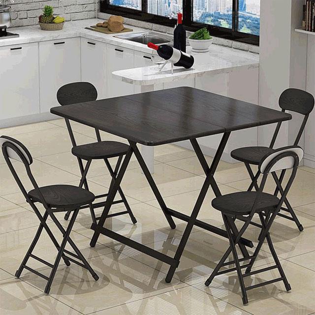 픽차 다용도 접이식 테이블, 블랙