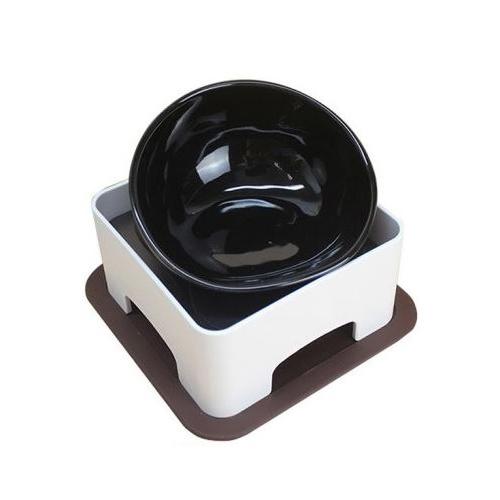 마이독 강아지 밥그릇 식탁 1구, 밥그릇(블랙), 1개