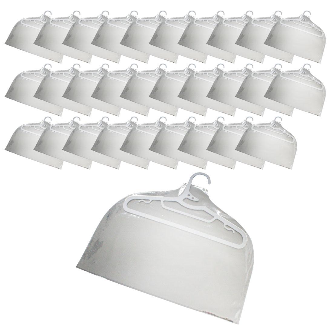 디에스컴퍼니 PVC 옷커버 성인용 대, 1개입, 30개