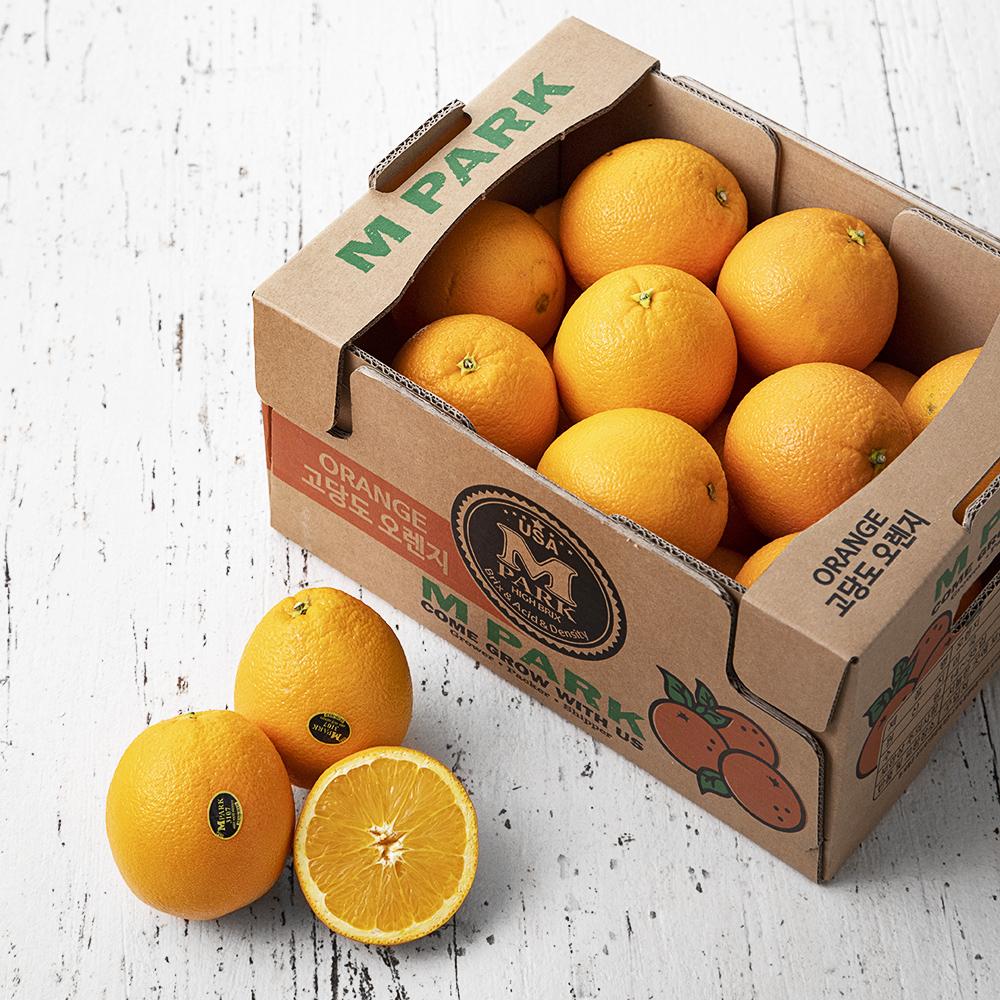 엠팍 고당도 네이블 오렌지, 5kg(17~32입), 1박스