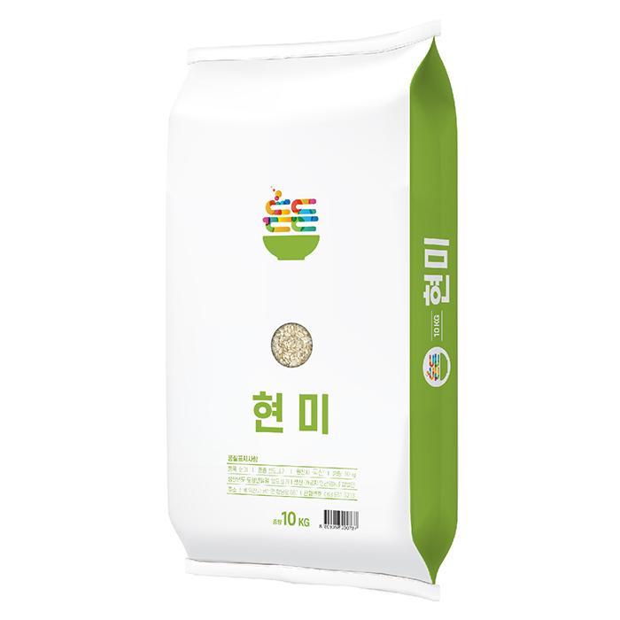 든든 우리 쌀 현미, 10kg, 1개